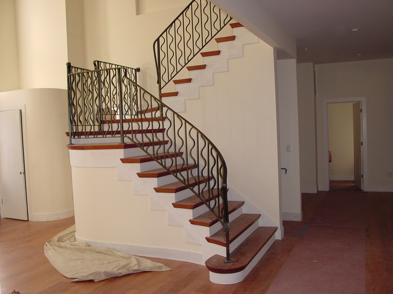 Iron Work - Indoor Iron Railing for Staircase